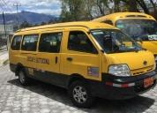 Excelente furgoneta kia pregio 2010