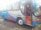 Se vende excelente bus omologado trabajando