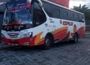 venta de bus interprovincial, contactarse.