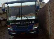 Se vende bus hino gd aÑo 2001.