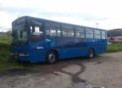 Se vende excelente bus por reparar