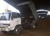 Se vende excelente camión isuzu año 91 con volteo