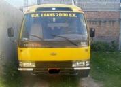 vendo microbus escolar isuzu. contactarse.