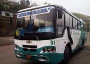 Vendo bus isuzu 2001 carroceria cepeda,contactarse.