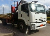 Se vende flamante camion con brazo grua