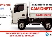 venta de camion 2,5 ton. motor izusu