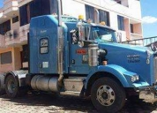 Vendo trailer azul kenworth t800.