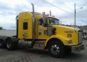 Vendo trailer amarillo kw t800 2013.