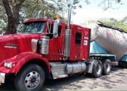 Vendo trailer kenworth con puesto de trabajo