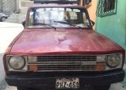 Vendo camioneta ford courrier 1600
