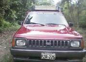 Vendo excelente camioneta ford courier 2000