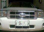Excelente ford escape 87600 km año 2009
