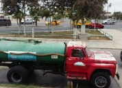 Vendo excelente tanquero ford 700