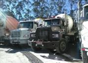 Vendo camion mack hormigonera. contactarse.