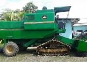 Se vende cosechadora con cabezal de maiz. contactarse.