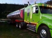 Excelente trailer cabezal freightliner tanquero