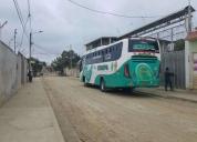 Se vende un bus 2010 hino fg, contactarse.