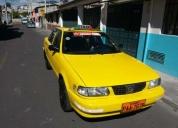 Se vende taxi con puesto.