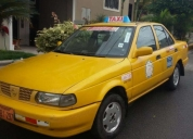 venta de taxi amarillo, contactarse.