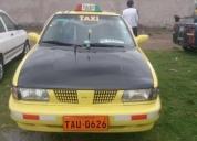 Oportunidad! taxi nissan con puesto