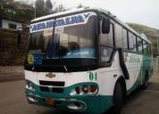 Vendo bus chevrolet carroceria cepeda