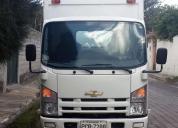 Vento o rento camión nlr con furgón, 2013