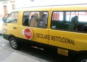 Se vende excelente buseta de transporte escolar kia 2008