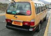 Excelente furgoneta kia grand pregio 2011