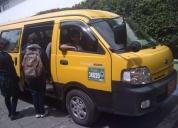 Furgoneta kia 2011para transporte escolar