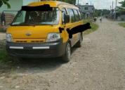 vendo una furgoneta escolar kia pregio