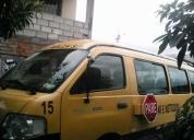 Se vende furgoneta marca kia pregio año 2008. oportunidad!