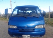 Vendo furgoneta hyunday h100.