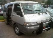 Buseta h100 hyundai grand salon motor 2400