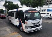 Oportunidad! mini bus de turismo hyundai county 20 pax