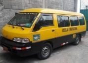 Vendo o cambio excelente furgoneta escolar
