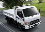 Excelente camiones hyundai.