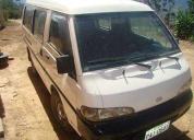Se vende furgoneta hyundai del 2002, contactarse.