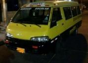 Vendo furgoneta amarilla.