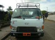 Vendo excelente camión plataforma hyundai 4.5ton 2014