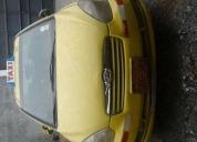 Vendo excelente taxi amarillo hyundai accent 2007