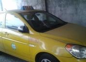 Se vende excelente taxi amarillo del 2010 hyundai accent