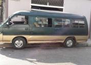 Excelente furgoneta hyundai h100