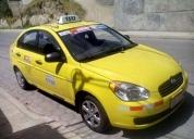 Taxi convencional hyundai accent modelo 2011