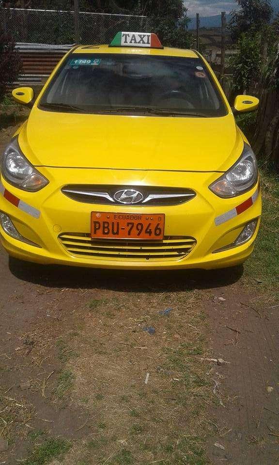 vendo taxi de oportunidad año 2012.