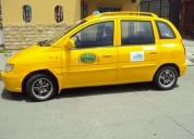 Vendo excelente taxi hyundai matrix