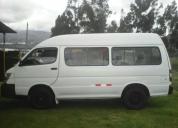 Vendo furgoneta jinbei 2012, contactarse.