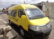 Vendo furgoneta golden dragon 2011.