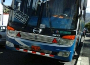Vendo bus aÑo 2009 hino fg