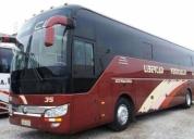 Vendo excelente  bus yutong 0 kms cooperativa clp