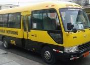 Bus escolar 28 pasajeros